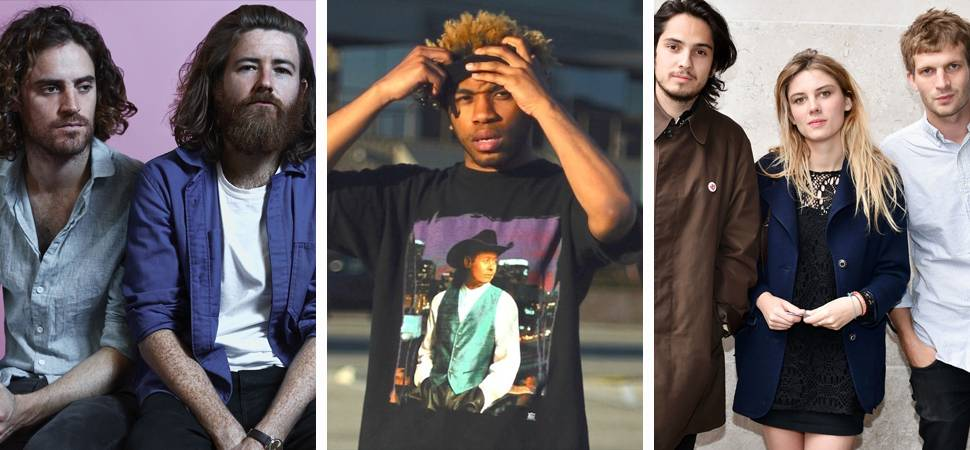 Get to know the 20 most-played acts on triple j this week