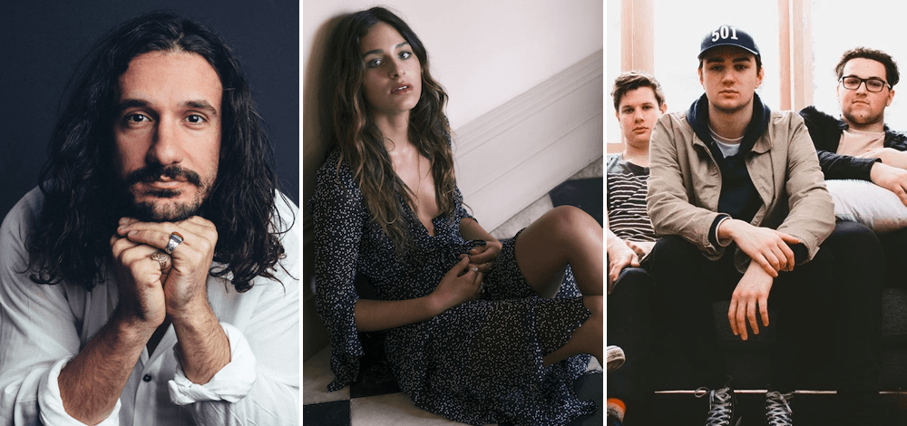 Get to know the top 5 most-played unsigned acts on triple j this week