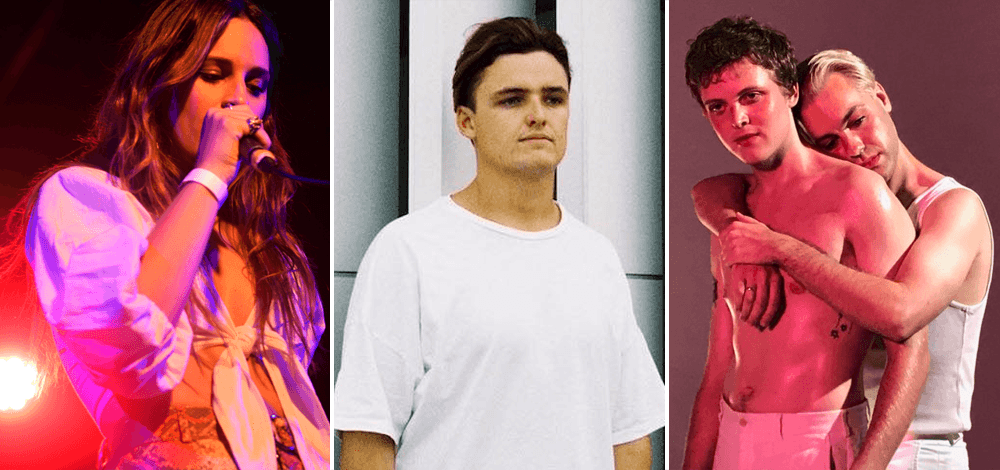 Check out the 5 most-played unsigned acts on triple j at the moment