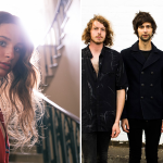 Samsaruh and A. Swayze & The Ghosts, the two most-played unsigned acts on triple j this week
