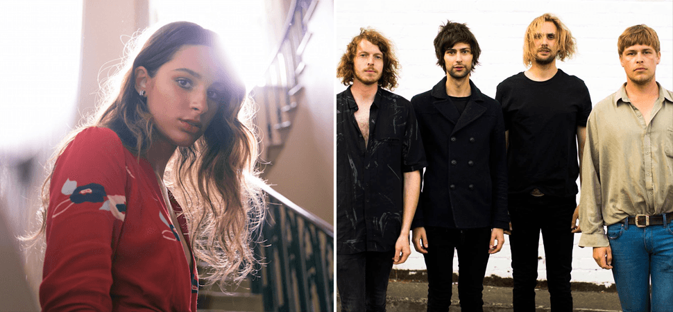 Meet the most-played unsigned acts on triple j this week